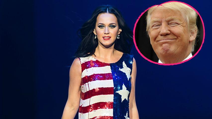 Ist Trump schuld? Katy Perry sagt Auftritt in China ab