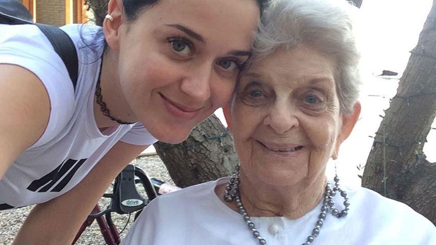 Katy Perry und ihre Oma Ann Pearl Hudson