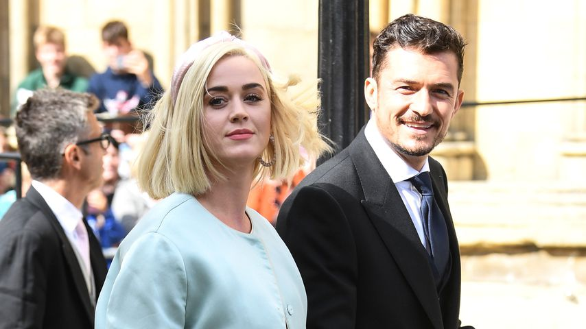 Katy Perry und Orlando Bloom als Hochzeitsgäste 2019