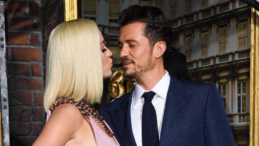 "Katy Perry und Orlando Bloom auf der ""Carnival Row""-Premiere in Los Angeles, 2019"