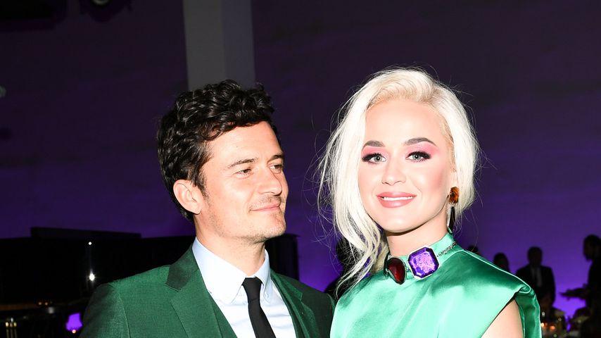 """Katy Perry und Orlando Bloom beim """"MOCA Benefit 2019"""""""