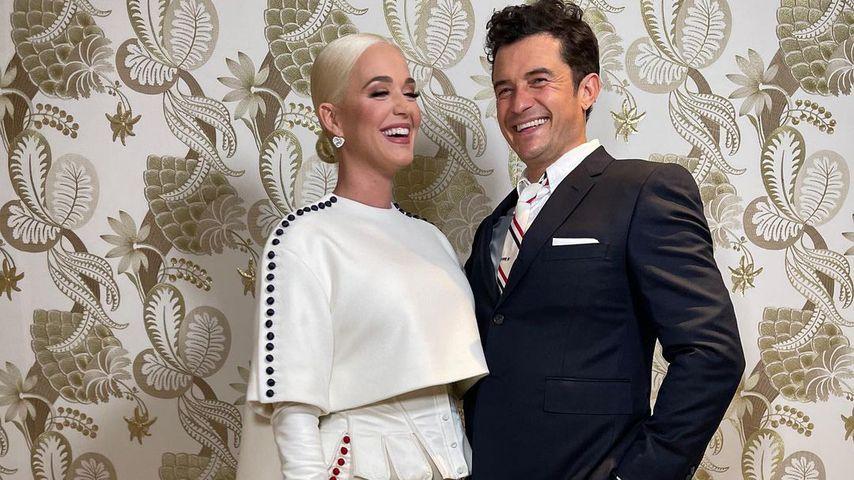 Katy Perry und Orlando Bloom im Januar 2021