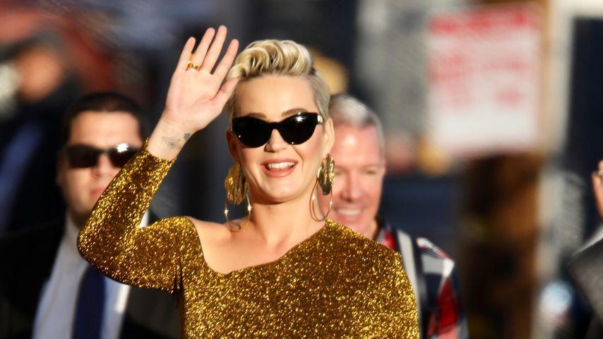 Sängerin Katy Perry im Feburar 2019