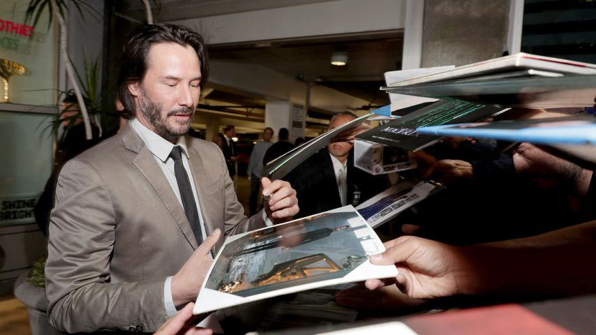"Keanu Reeves bei der Premiere von ""John Wick: Kapitel 2"" in Los Angeles"