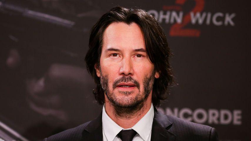 "Keanu Reeves beim ""John Wick: Kapitel 2"" Photocall in Berlin"