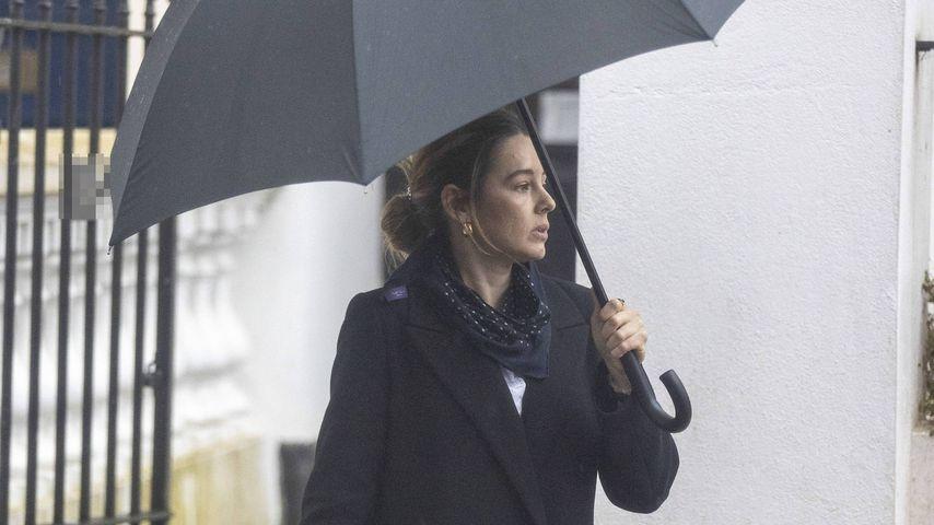 Keeley Hazell in London im März 2021