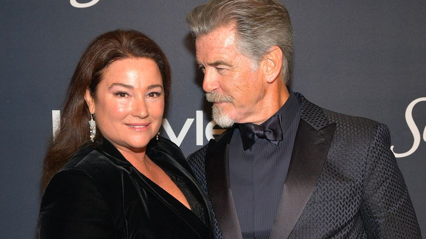 Keely Shaye Smith und Pierce Brosnan bei den Golden Globes 2020