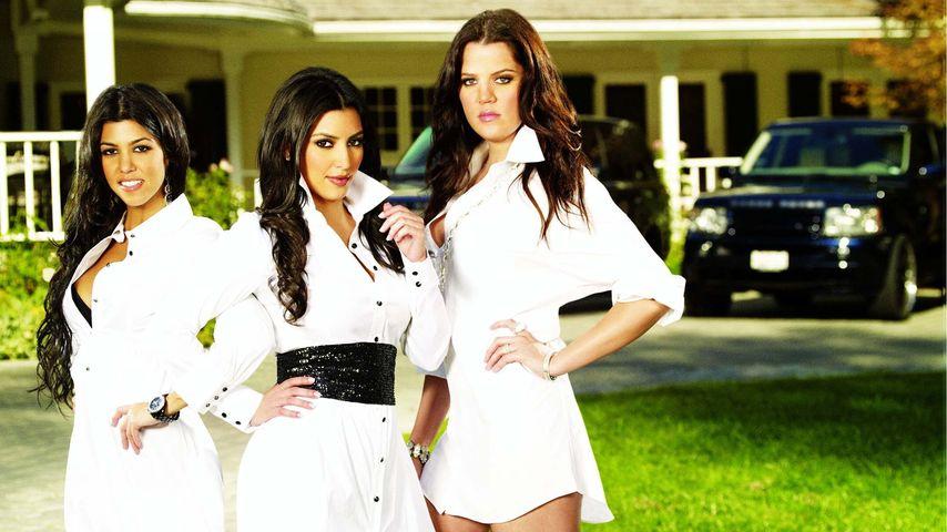 Khloe Kardashian, Kim Kardashian und Kourtney Kardashian