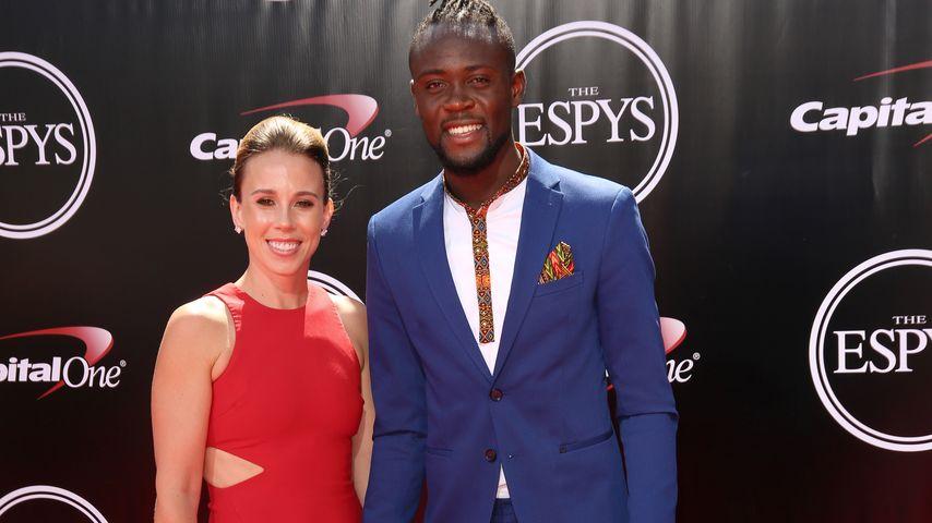 Kei und Kristin Kamara (l.) bei den ESPY Awards in Los Angeles