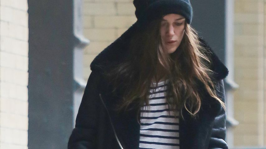 NYC-Winterstyle: Keira Knightley eingemummelt im Big Apple