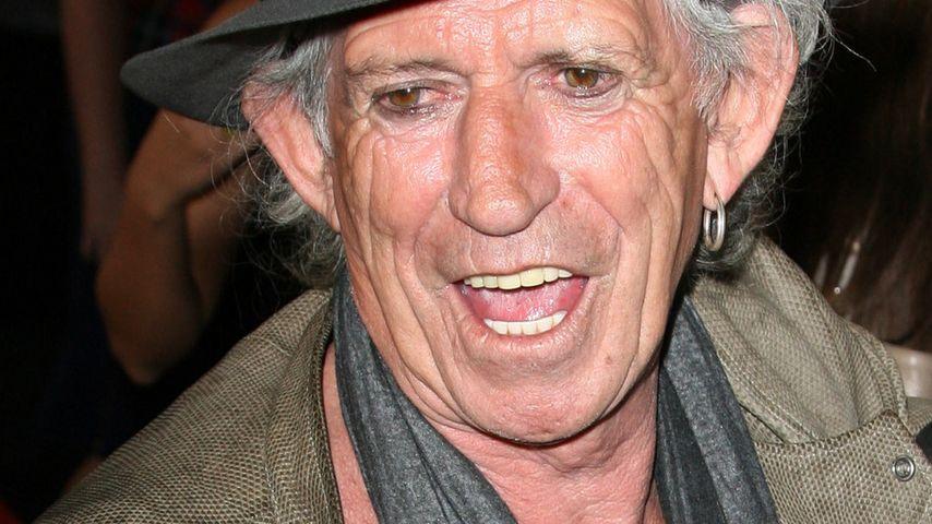 Keith Richards hofft auf neue Stones-Musik!