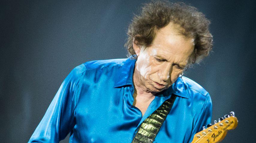 Keith Richards bei einem The-Rolling-Stones-Konzert, 2019