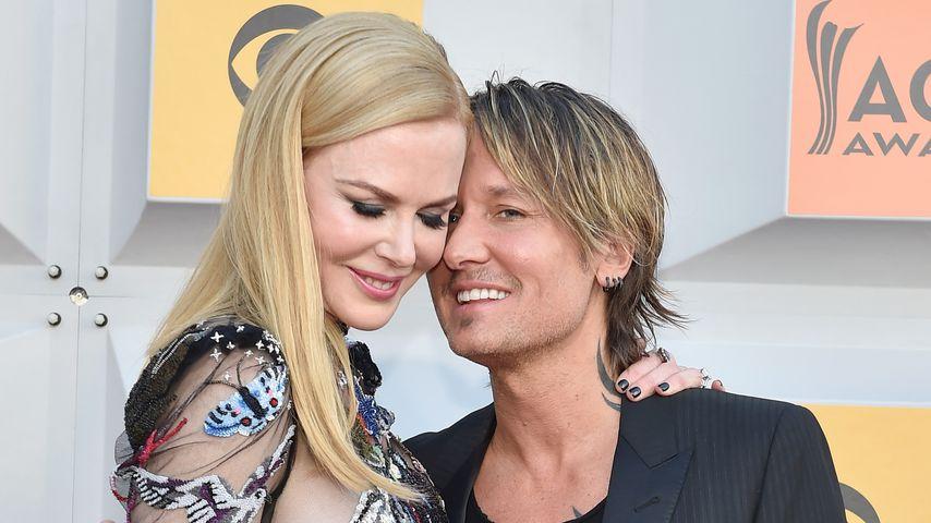Nicole Kidman und Keith Urban auf einer Preisverleihung in Las Vegas