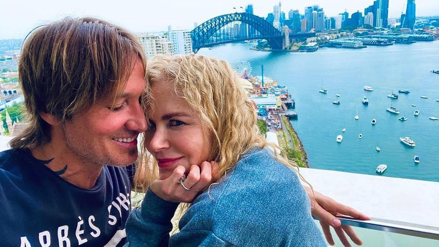 Keith Urban und Nicole Kidman, Dezember 2019