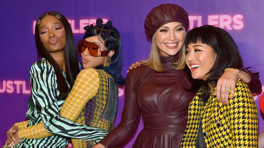 Keke Palmer, Cardi B, Jennifer Lopez und Constance Wu