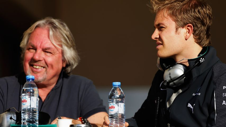 Keke Rosberg mit seinem Sohn Nico Rosberg 2014