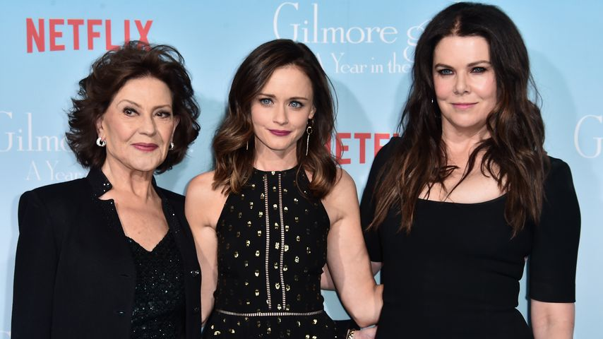 "Kelly Bishop, Alexis Bledel and Lauren Graham, ""Gilmore Girls""-Stars"
