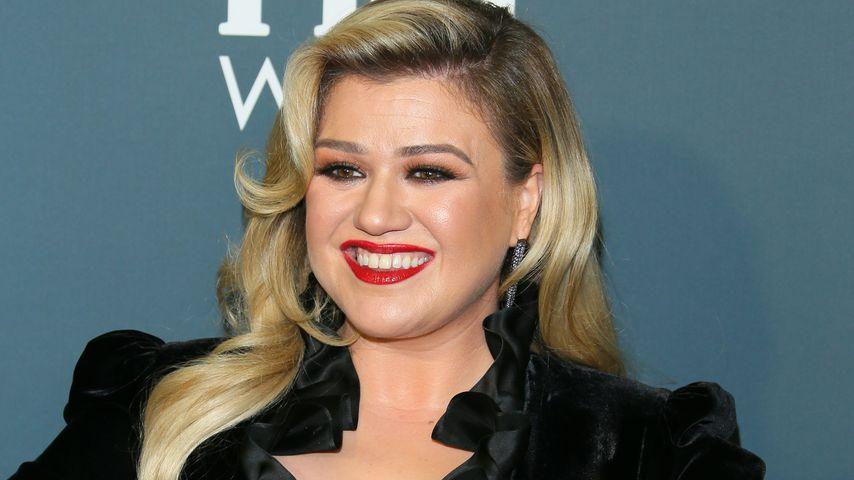 Wie bitte? Sängerin Kelly Clarkson kackte in einen Mülleimer