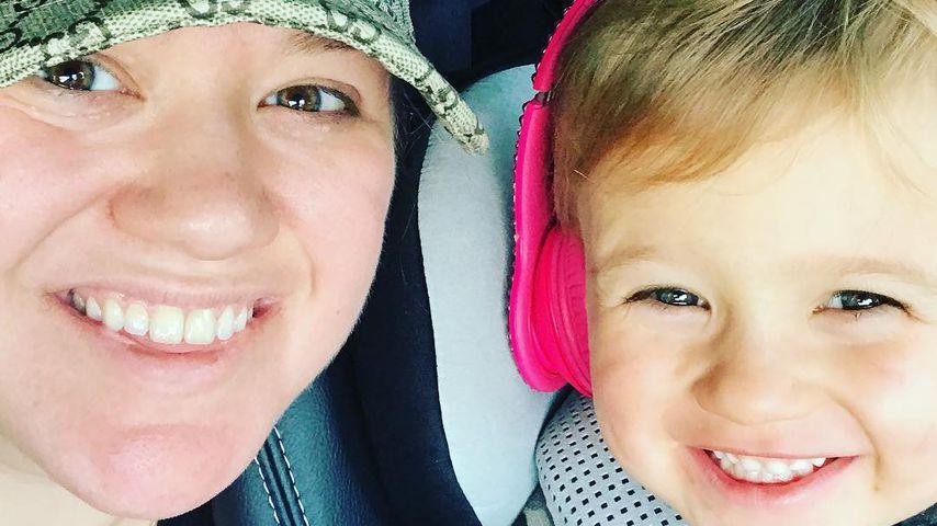 Kelly Clarkson mit ihrer Tochter River Rose