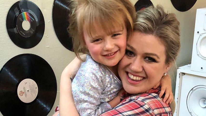 Kelly Clarkson und ihre Tochter
