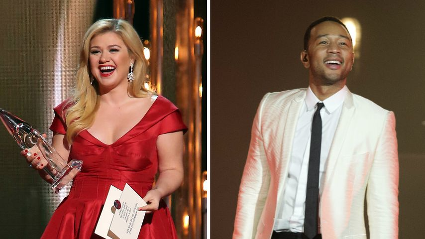 Kelly Clarkson & John Legend covern Tokio Hotel!