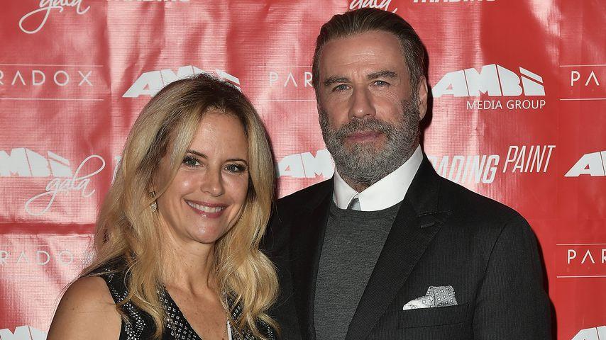 Kelly Preston und ihr Ehemann John Travolta