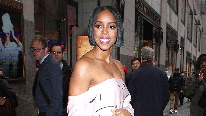 Die Sängerin Kelly Rowland in New York