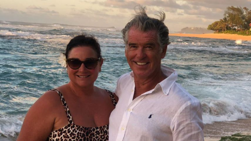 Keely Shaye Smith und Pierce Brosnan