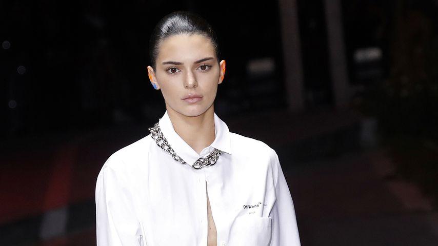 Kendall Jenner bei der Pariser Fashion Week
