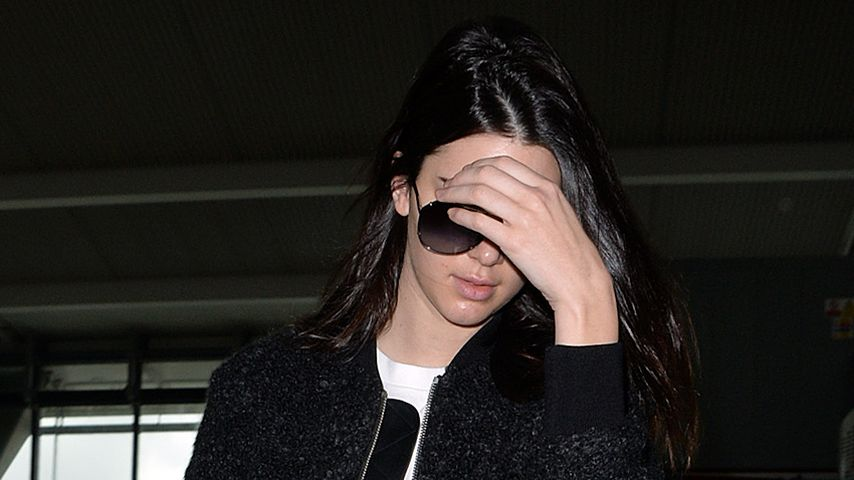 Stress-Pickel: Kendall Jenners Haut strapaziert!