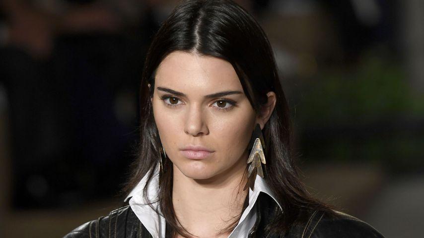 Kendall Jenner auf dem Laufsteg bei der Fashion Week in New York