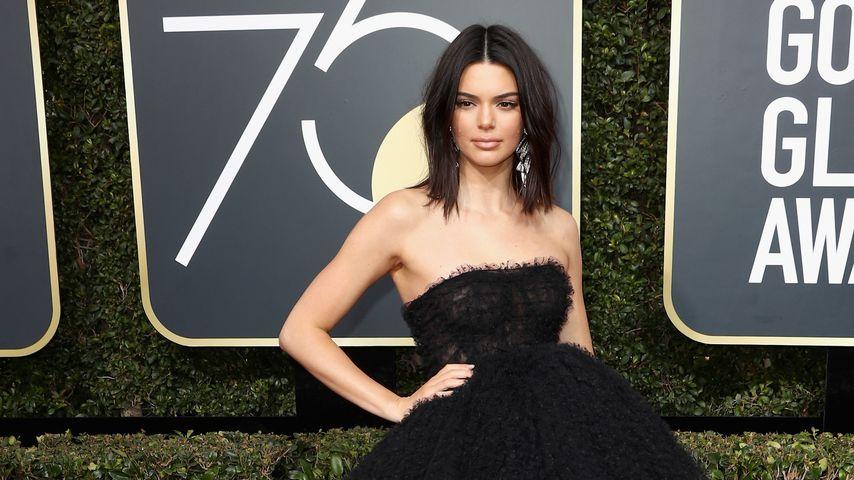 Kendall Jenner, Golden Globes 2018