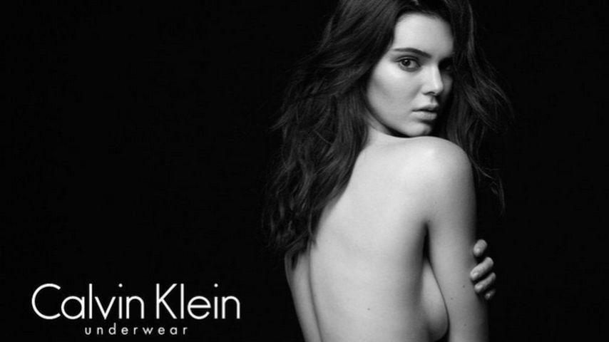 Kendall Jenner: Sexy Shooting für Calvin Klein