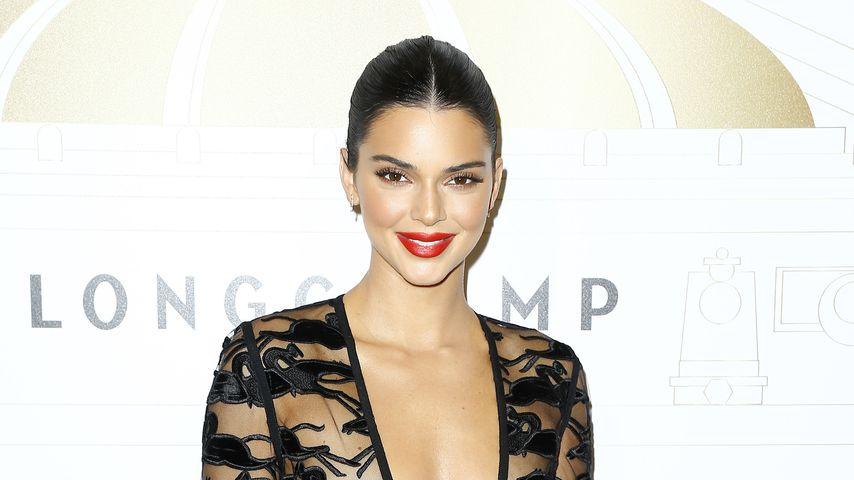 Kendall Jenner bei der Longchamp-Jubiläumsfeier in Paris