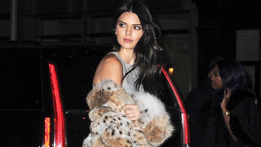 Toter Luchs für 70.000 €: Kendall Jenner trägt jetzt Pelz!