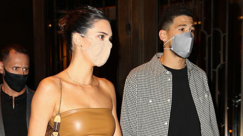 Kendall Jenner und Devin Booker in New York