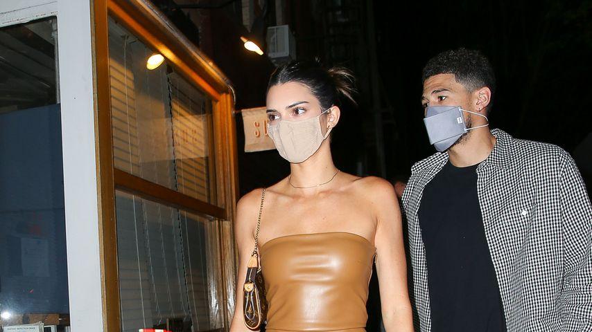 Kendall Jenner und ihr Freund Devin Booker, 2021