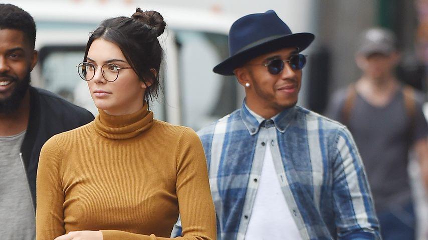 Dates mit Kendall Jenner? Jetzt äußert sich Lewis Hamilton