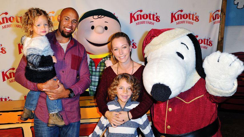 Kendra Wilkinson und Hank Baskett mit den beiden gemeinsamen Kindern