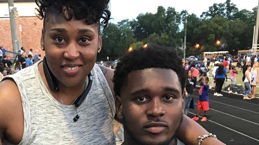 Kendrick Norton und seine Mutter Patty