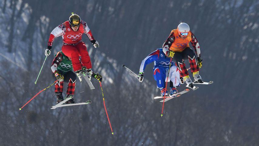 Kevin Drury, Dave Duncan, Arnaud Bovolenta und Sergey Ridzik bei den Olympischen Spielen 2018