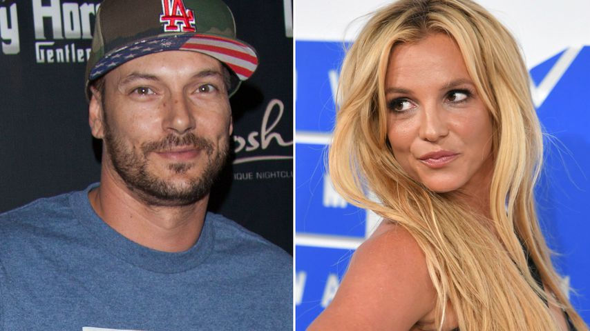 Böses Blut? So läuft's zwischen Kevin Federline & Ex Britney