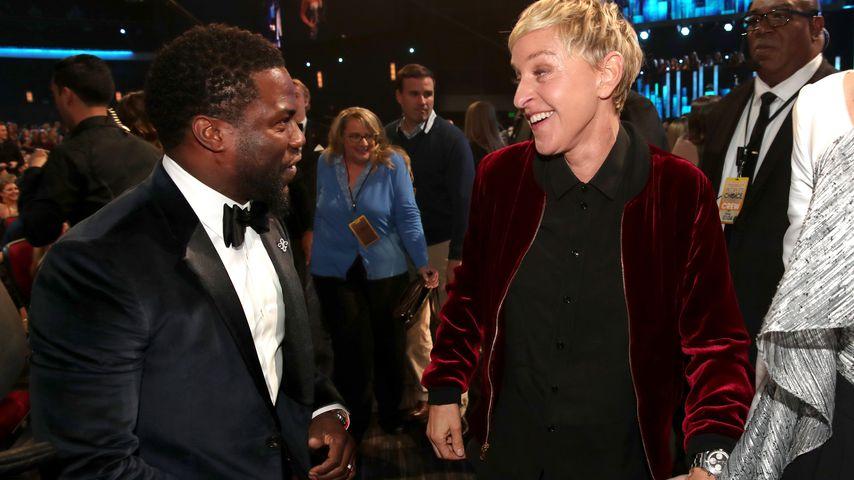 Kevin Hart und Ellen DeGeneres bei den People's Choice Awards 2017