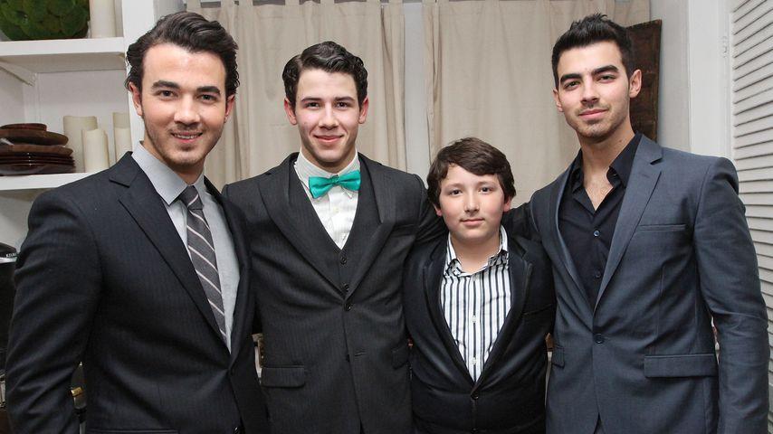Kevin, Nick, Frankie und Joe Jonas 2012