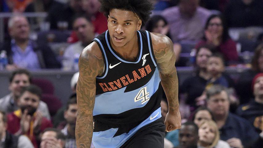 Kevin Porter Jr. bei einem Basketballspiel in Cleveland im Oktober 2019