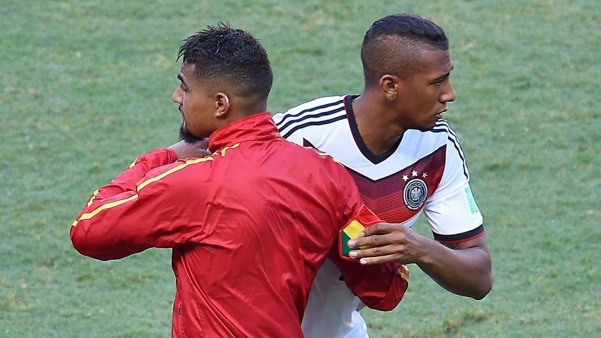 Kevin-Prince Boateng und Jérôme Boateng, 2014