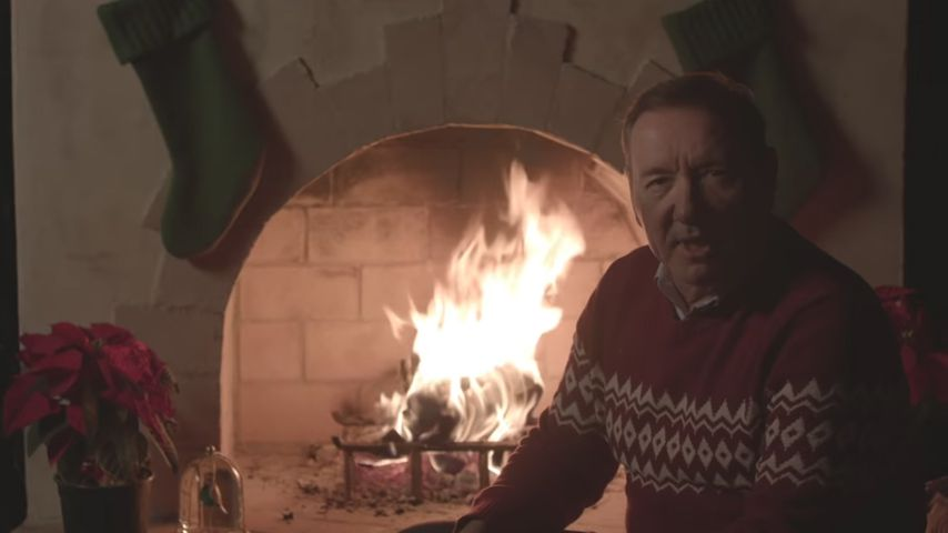 Kevin Spacey sendet bizarre Xmas-Grüße als Frank Underwood