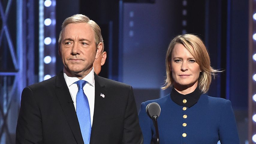 Kevin Spacey und Robin Wright bei den Tony Awards 2017