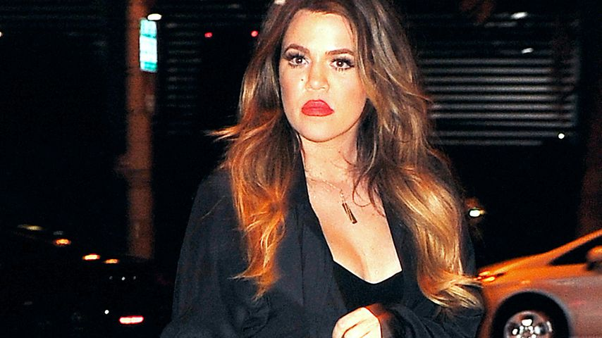 Khloe Kardashian im Januar 2015 auf dem Weg zu einem Konzert von French Montana