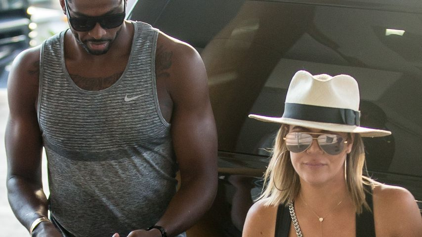 Tristan Thompson und Khloé Kardashian in Miami